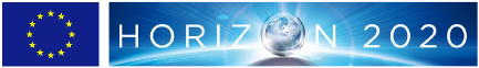 EU flag and EC H2020 logo